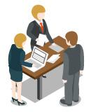 事務補助スタッフのイメージ画像