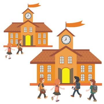 全校舎通常通り営業中のイメージ